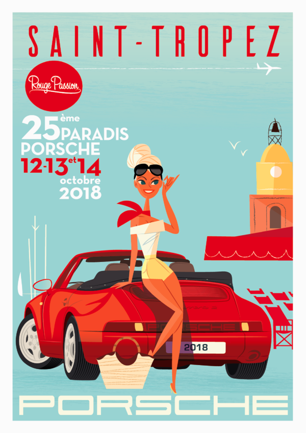 Saint Tropez Tourism Event 25th Paradis Porsche 2018 Quels