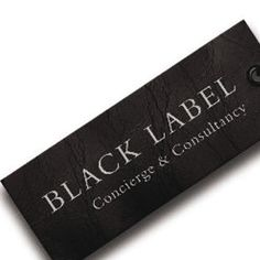 Black Label Concierge and Consultancy