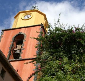 Saint-Tropez bell tower