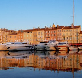The port of Saint-Tropez