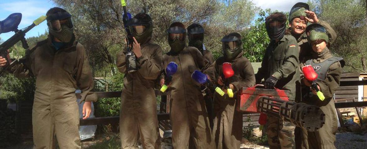 Paintball Family