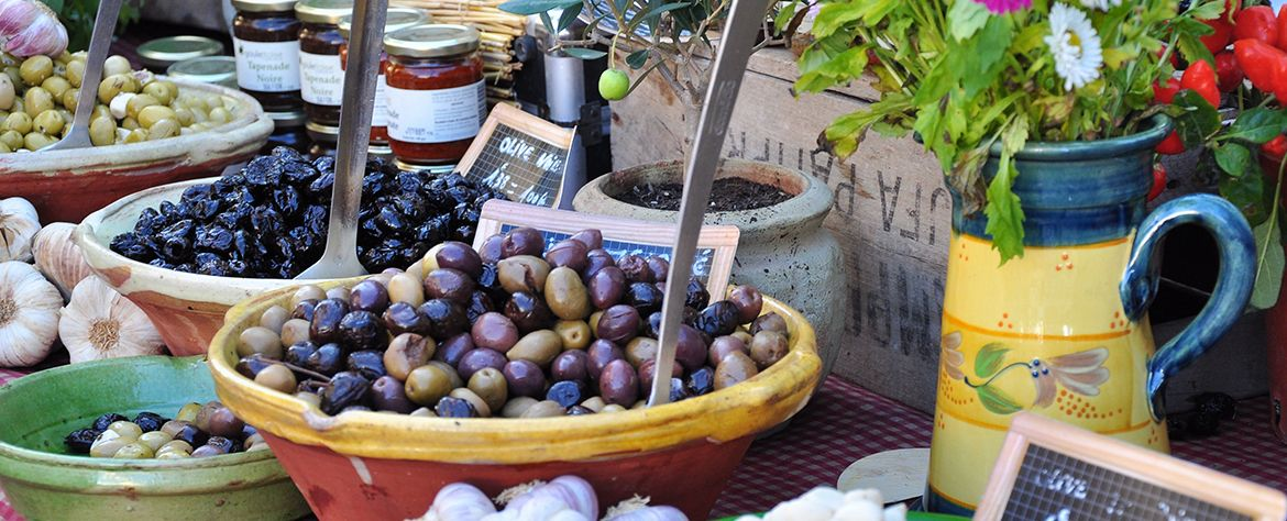 Gastronomy, local product of de Saint-Tropez