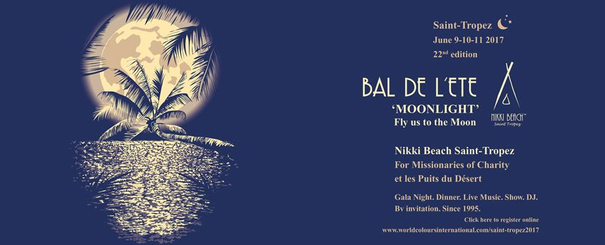 "Bal de l'Eté ""MOONLIGHT"" Nikki Beach"
